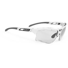 Rudy Project Keyblade Occhiali, white gloss/impactX 2 photochromic laserblack